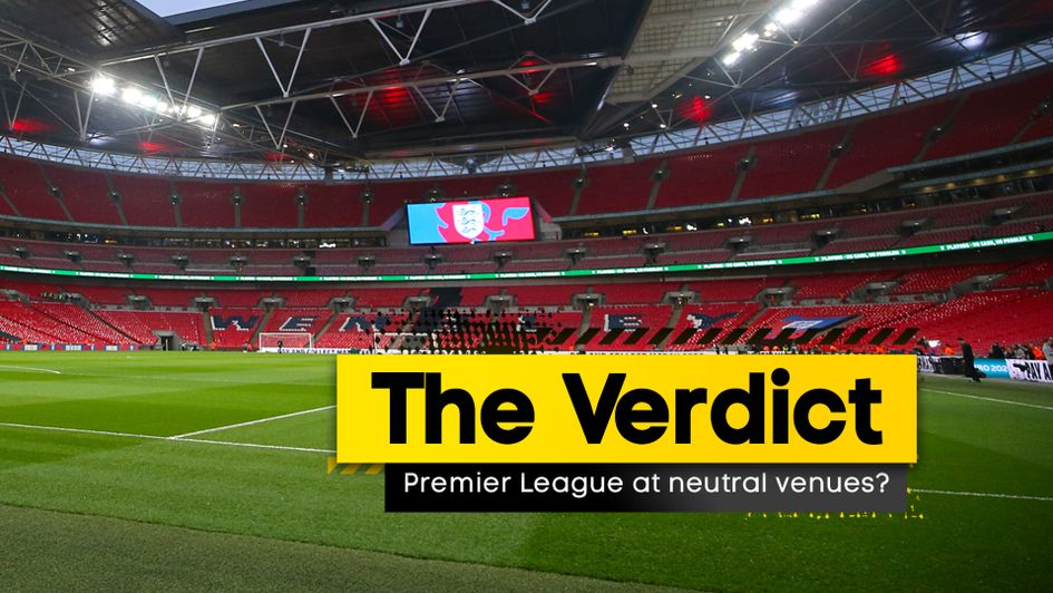 Our football team debate how the Premier League should resume behind closed doors