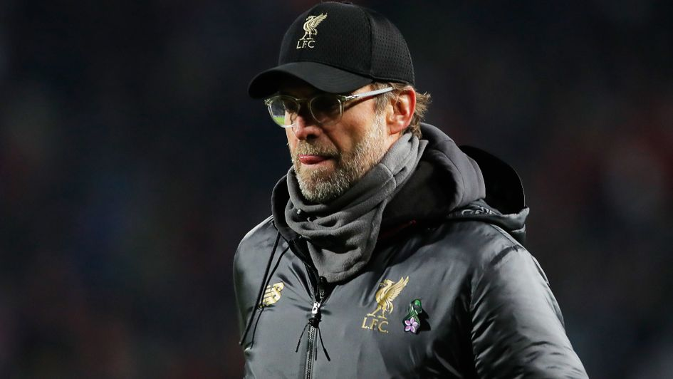 Jurgen Klopp: The German's Liverpool side were off the pace in Belgrade
