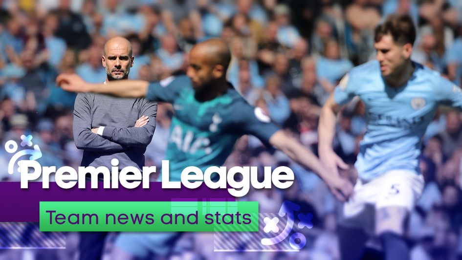 The latest team news and statistics for the latest Premier League action