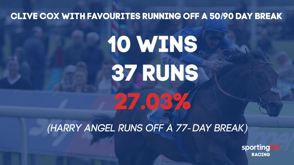 Can Harry Angel prosper after a 77-day break?