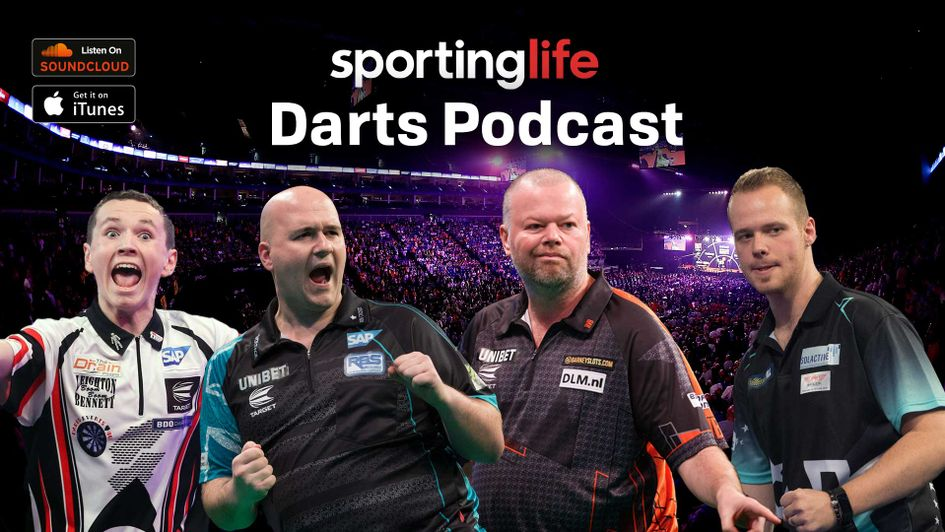Scroll down for details on how to listen to the latest edition of the Sporting Life Darts Podcast