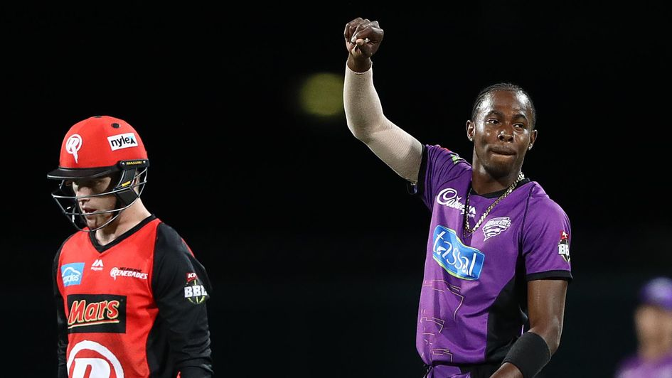 Jofra Archer - plenty to celebrate