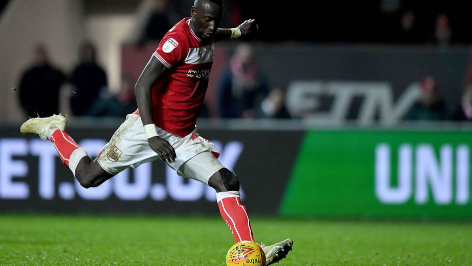 Famara Diedhiou scores from the penalty spot to give Bristol City a late win over QPR
