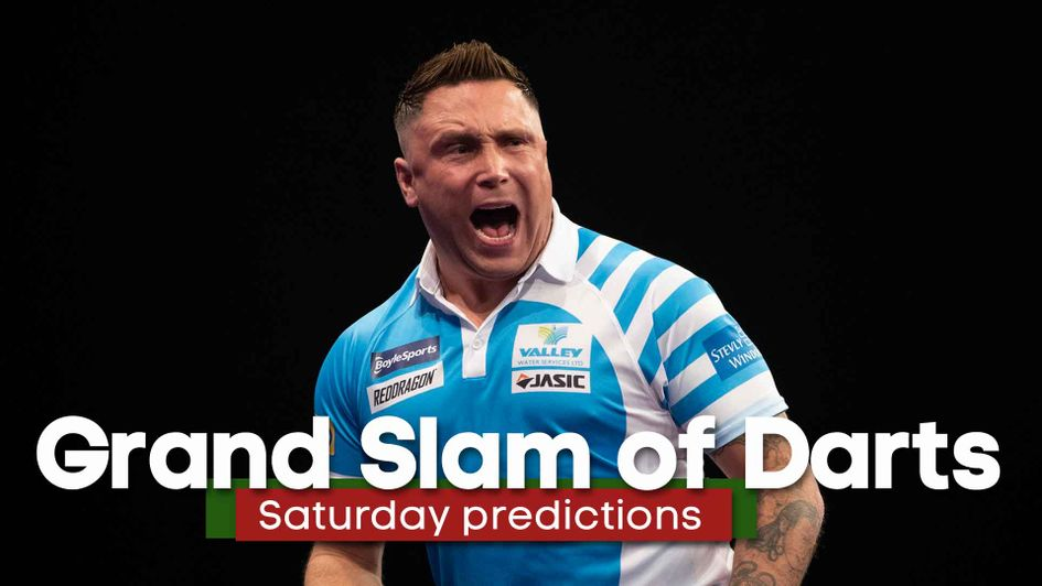 Can Gerwyn Price get past Gary Anderson at the Grand Slam of Darts?