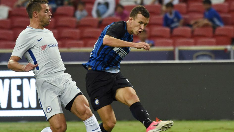 Ivan Perisic scores for Inter