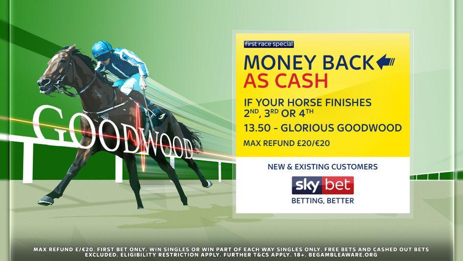 Sky Bet's latest Money Back as Cash offer