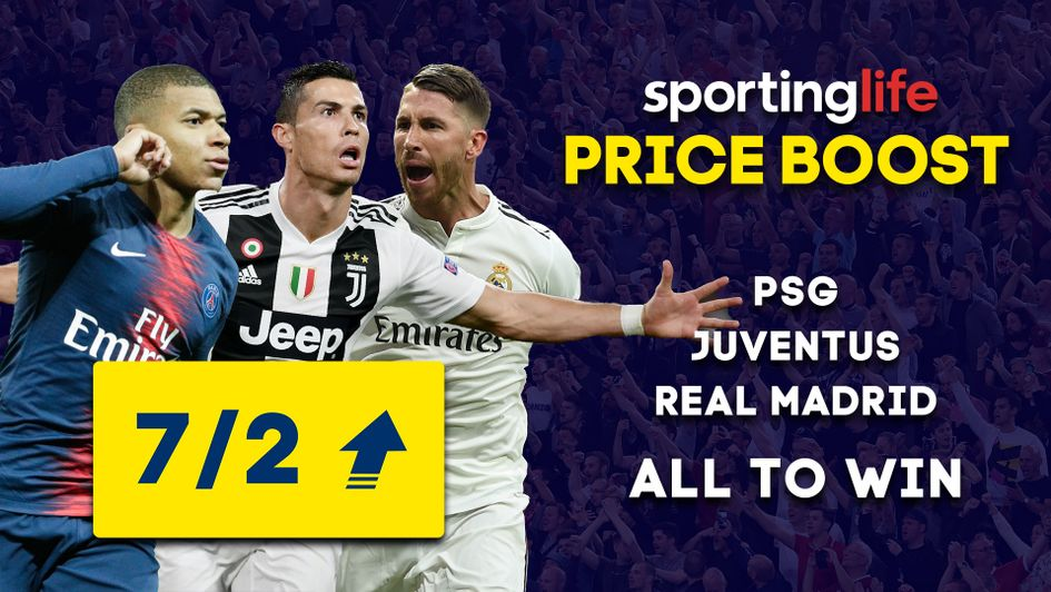 Sporting Life Price Boost for Sunday, November 11