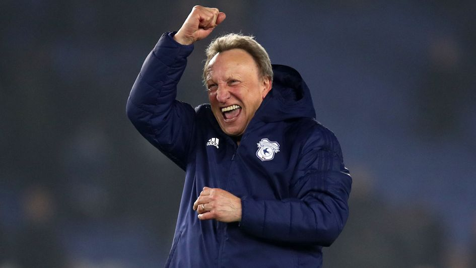 Delight for Neil Warnock after Cardiff's win at Brighton