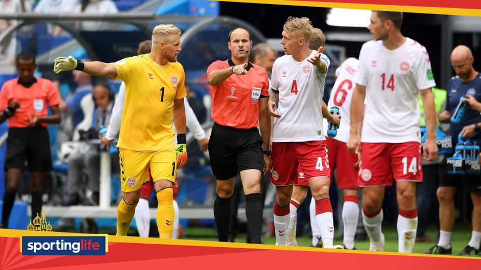 Denmark complain about VAR penalty decision against Australia