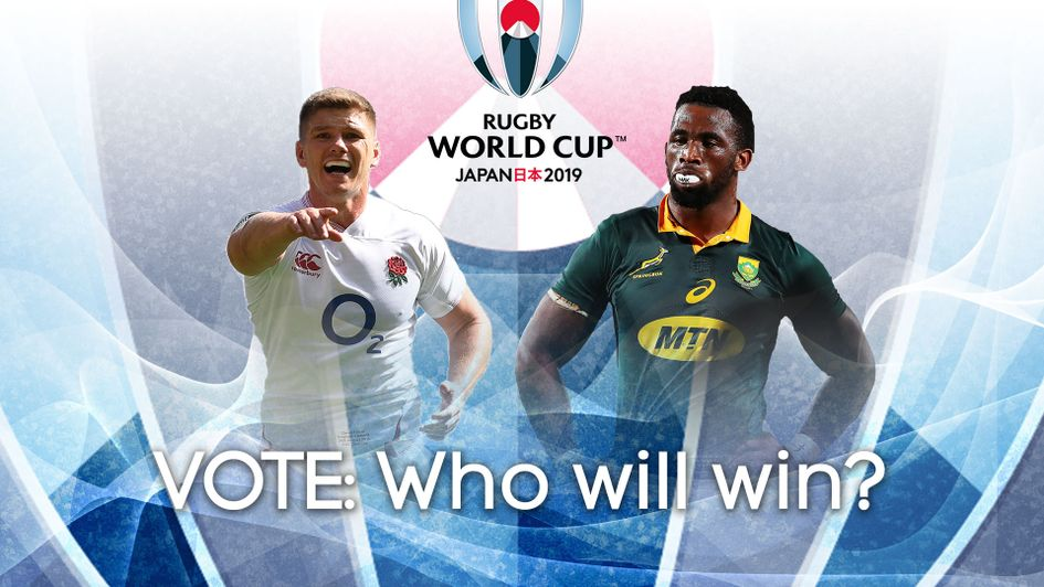 Vote to tell us who you think will win the Rugby World Cup final