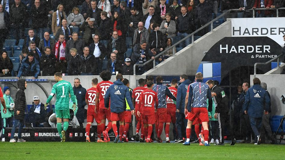 Watch Bayern Munich And Hoffenheim Players Refuse To Play After