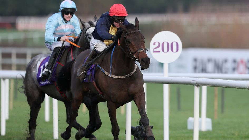 City Island winning at Leopardstown