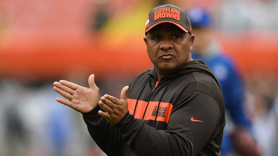 Hue Jackson fired as Cleveland Browns head coach