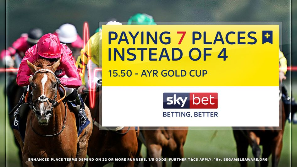 Don't miss Sky Bet's Ayr Gold Cup offer