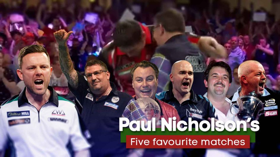 Check out Paul Nicholson's five classic matches