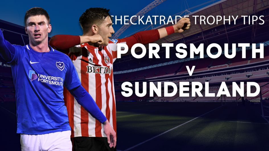 Our best bets for Portsmouth v Sunderland in the Checkatrade Trophy final