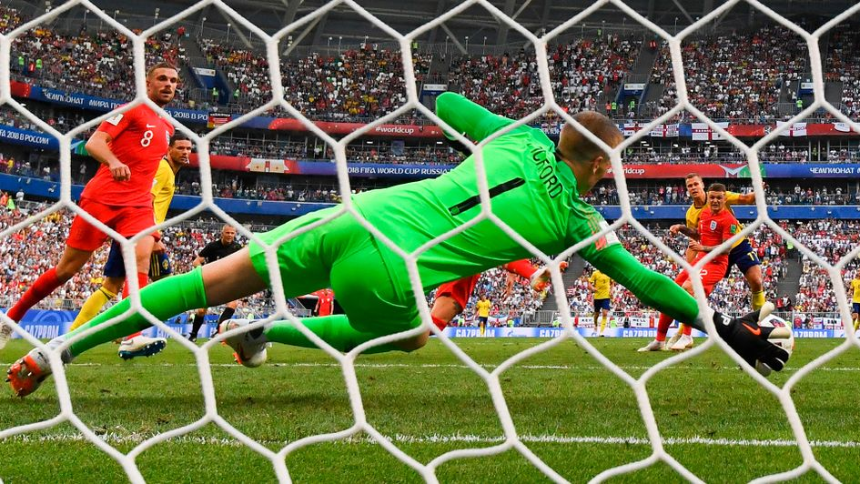 Jordan Pickford came up big for England when required