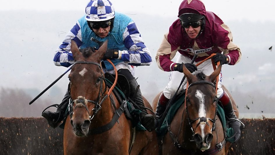 Ozzie The Oscar (right) wins under Richard Johnson