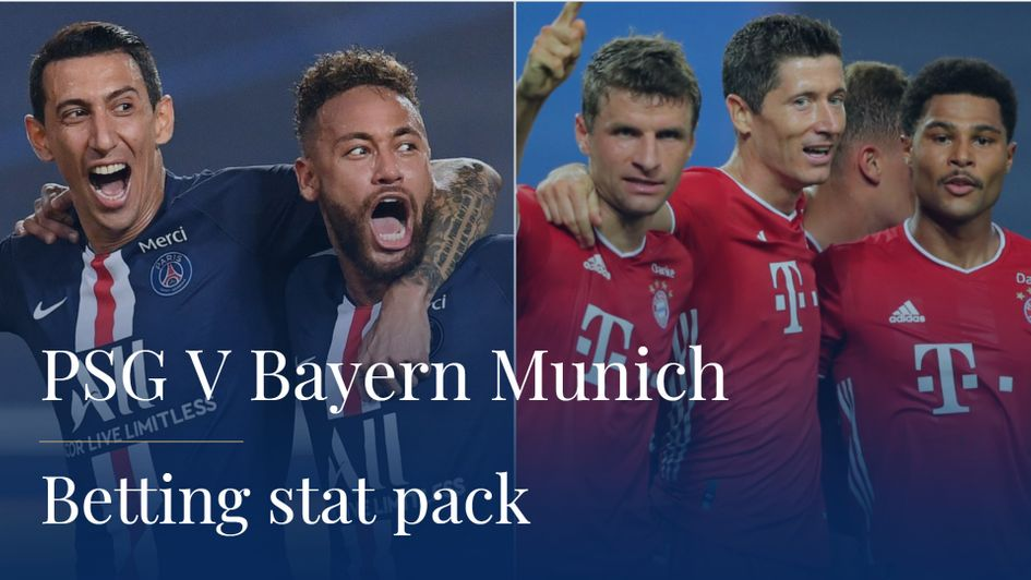 Champions League Final Match Preview Guide Stats Records Head To Heads Tv Times Channel Top Betting Stats For Psg V Bayern Munich