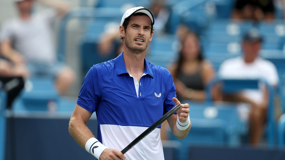 Andy Murray was beaten by Richard Gasquet at the Western and Southern Open