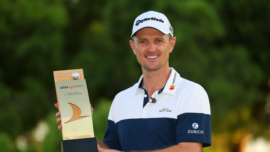 Justin Rose wins the Turkish Airlines Open