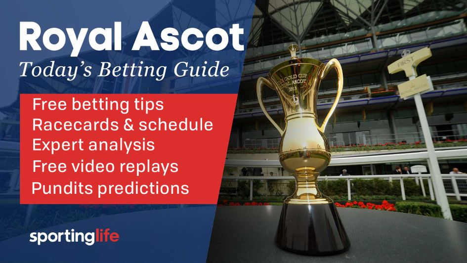 Scroll down for all of our team's best bets for today's action at Royal Ascot