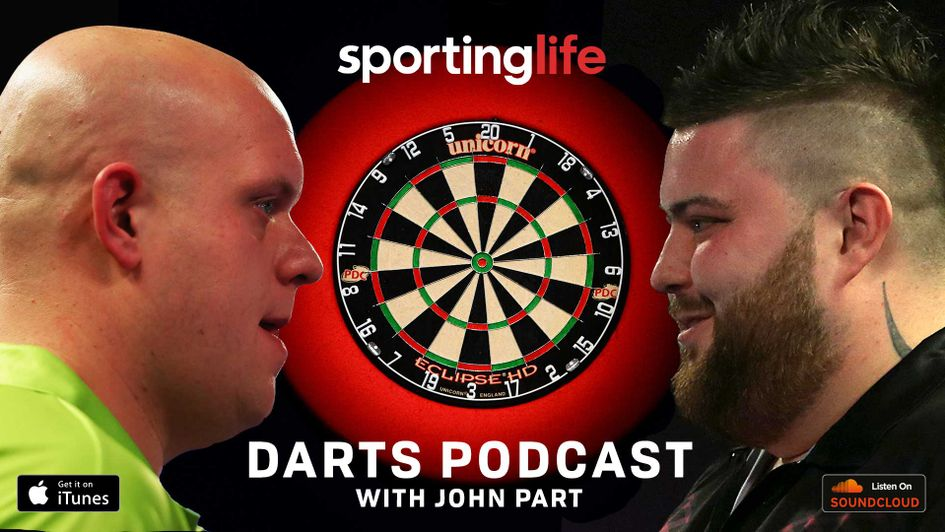 Listen to John Part, Chris Hammer and Dom on the Sporting Life Darts Podcast