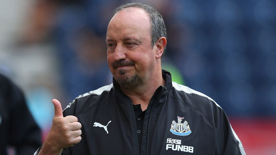 Newcastle boss Rafael Benitez