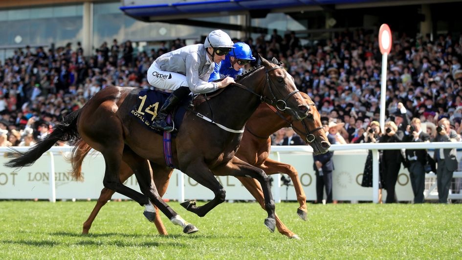 Space Traveller wins the Jersey Stakes