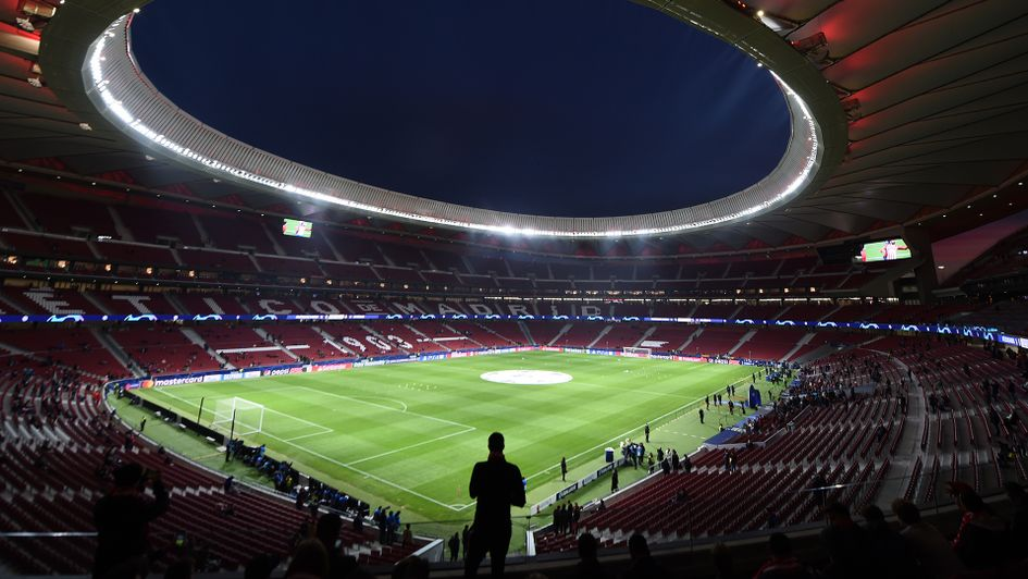 Atletico Madrid's stadium will host the Champions League final
