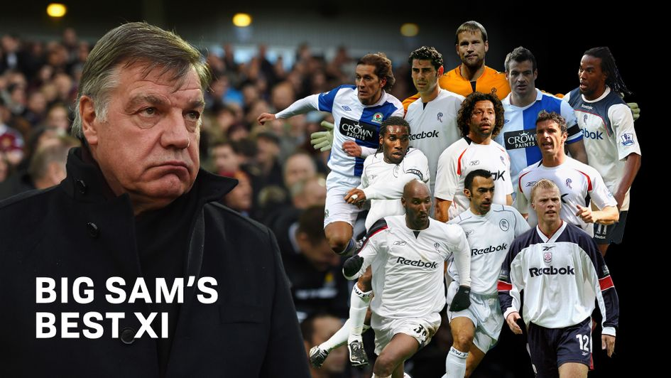 The Best Xi Footballers Managed By Sam Allardyce At Bolton Newcastle Blackburn West Ham And Everton