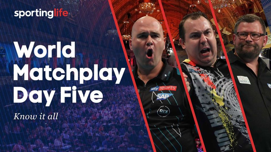 Find out who we're backing to book their places in the World Matchplay quarter-finals