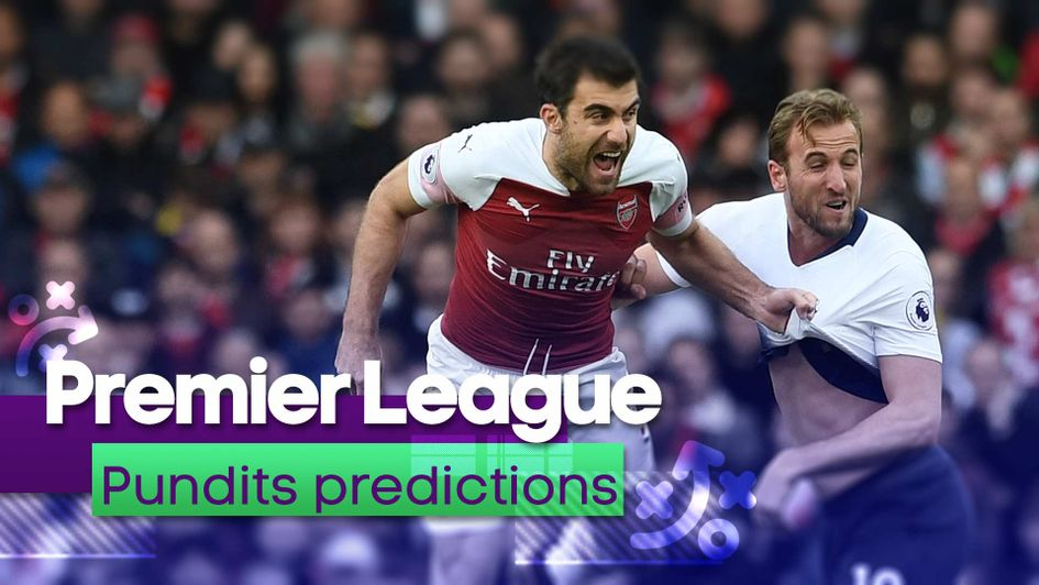 Soccer Saturday pundits give their predictions for Arsenal v Tottenham in the north London derby