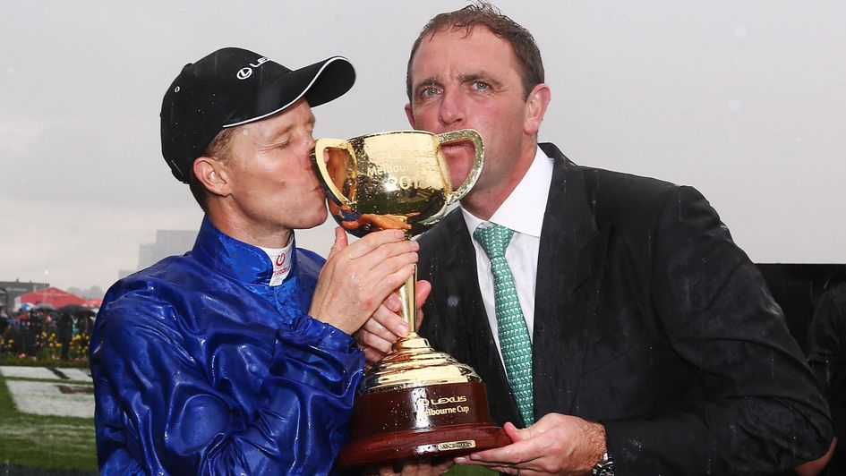 Charlie Appleby savours his Melbourne Cup win