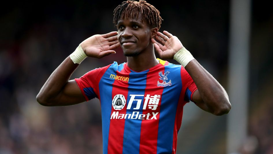 Wilfried Zaha grabbed a dramatic late equaliser for Palace
