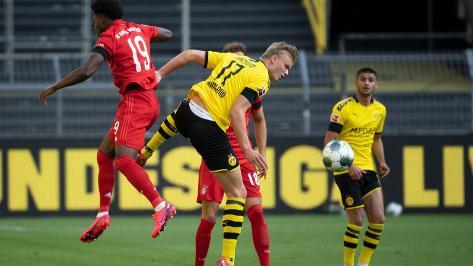 Jadon Sancho and Erling Haaland fail to provide spark as Bayern ...