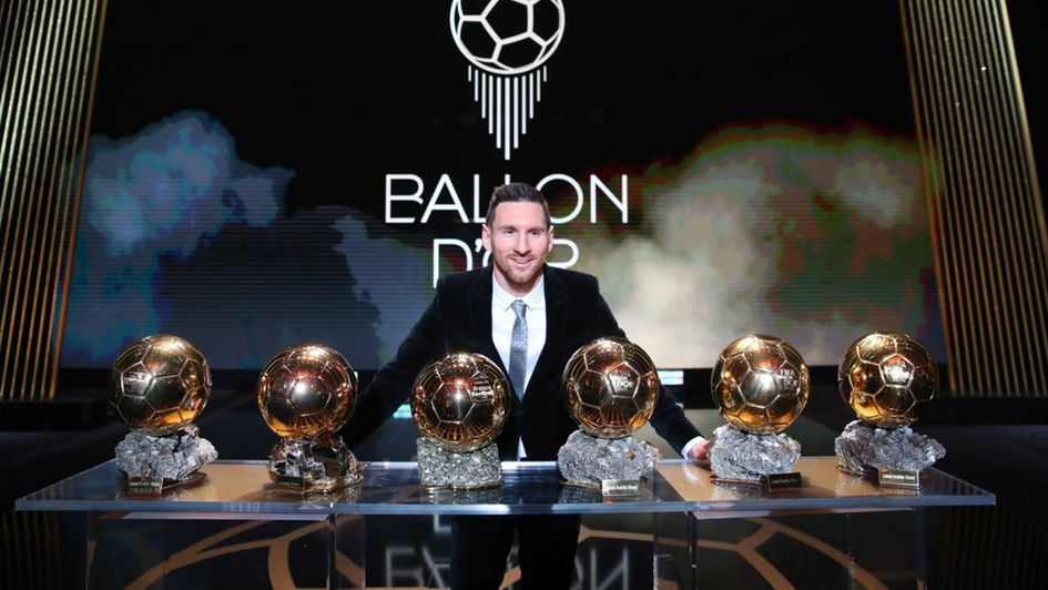 Lionel Messi wins a record sixth Ballon d'Or