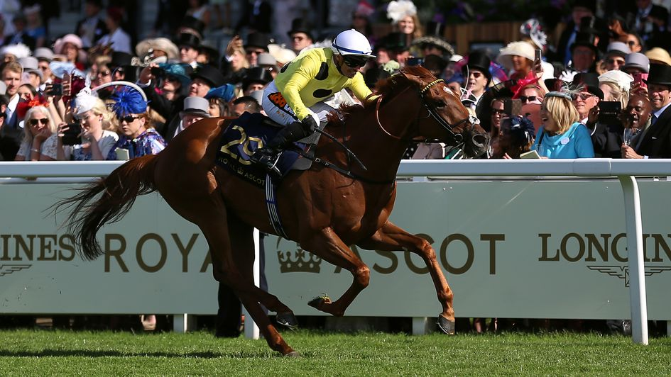 Ostilio wins the Britannia at Royal Ascot