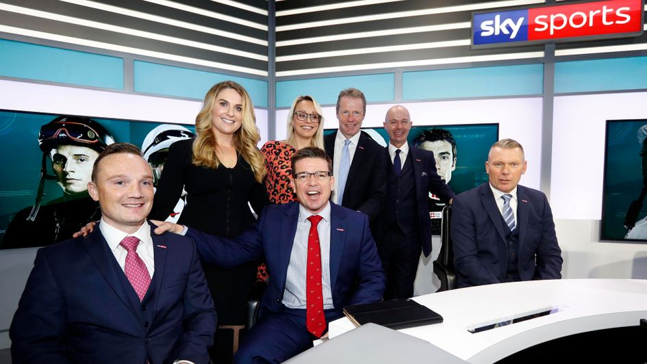 The new Sky Sports Racing team