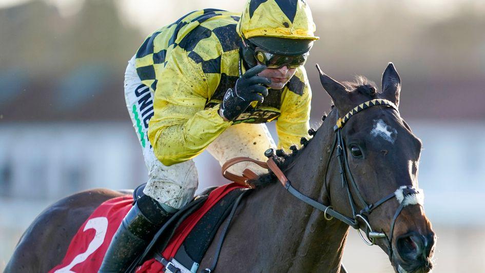 Shishkin wins the Ladbrokes Wayward Lad Novices' Chase