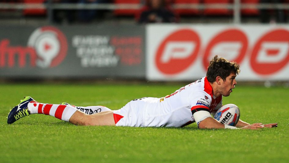 Louie McCarthy-Scarsbrook scores for St Helens