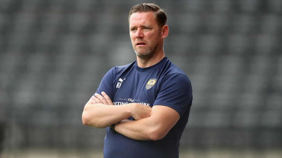 Kevin Nolan: The Notts County boss is aiming for promotion from Sky Bet League Two this term