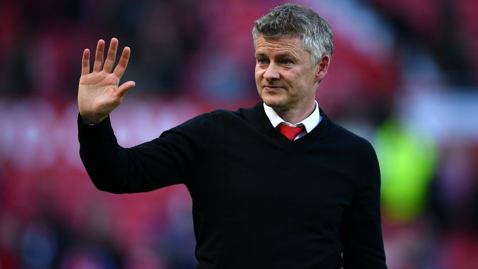Ole Gunnar Solskjaer: Manchester United boss waves to fans following their defeat to Cardiff