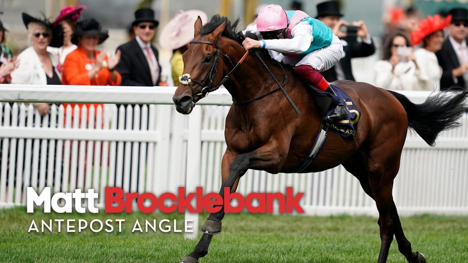 Sangarius wins at Royal Ascot