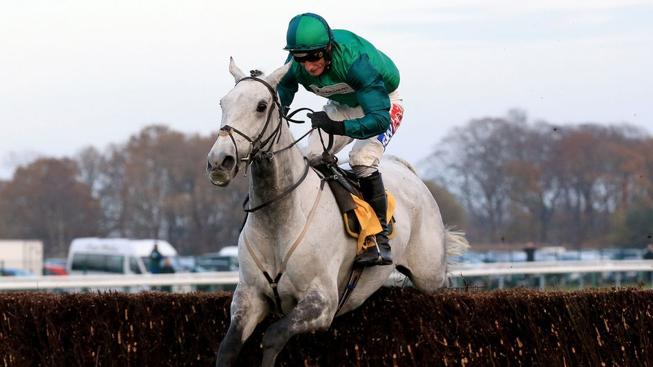 Bristol De Mai is out on his own at Haydock