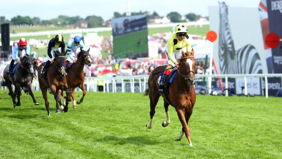 Ajman King was in a league of his own at Epsom