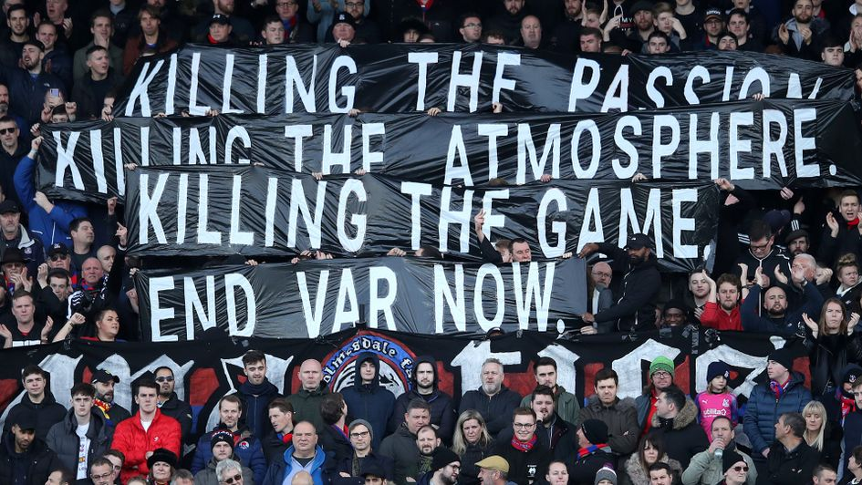 Crystal Palace launch an official protest against VAR