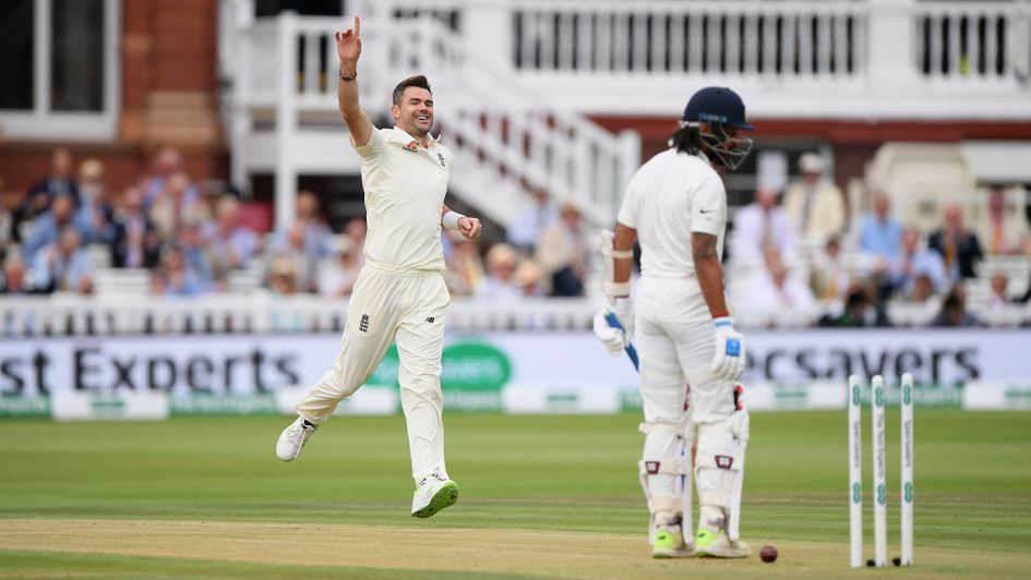 James Anderson strikes early at Lord's