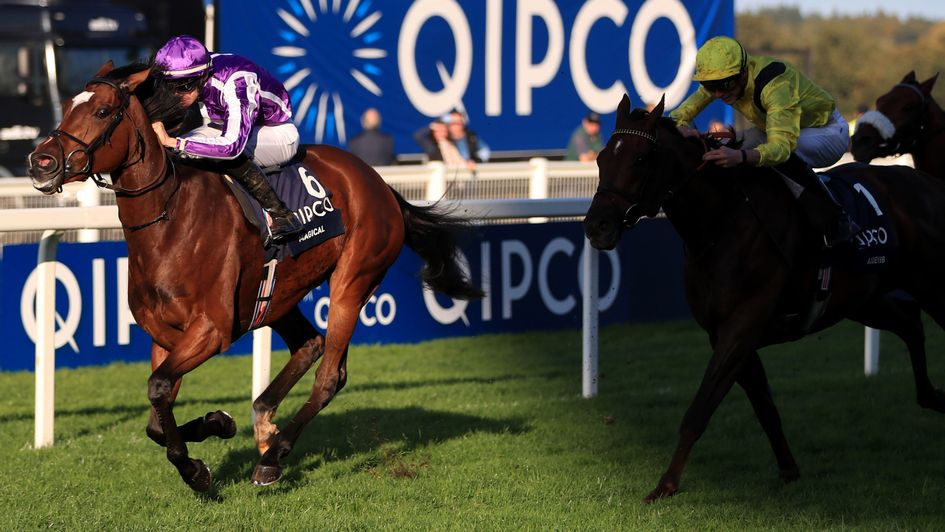 Magical gives Aidan O'Brien his first win in the QIPCO Champion Stakes