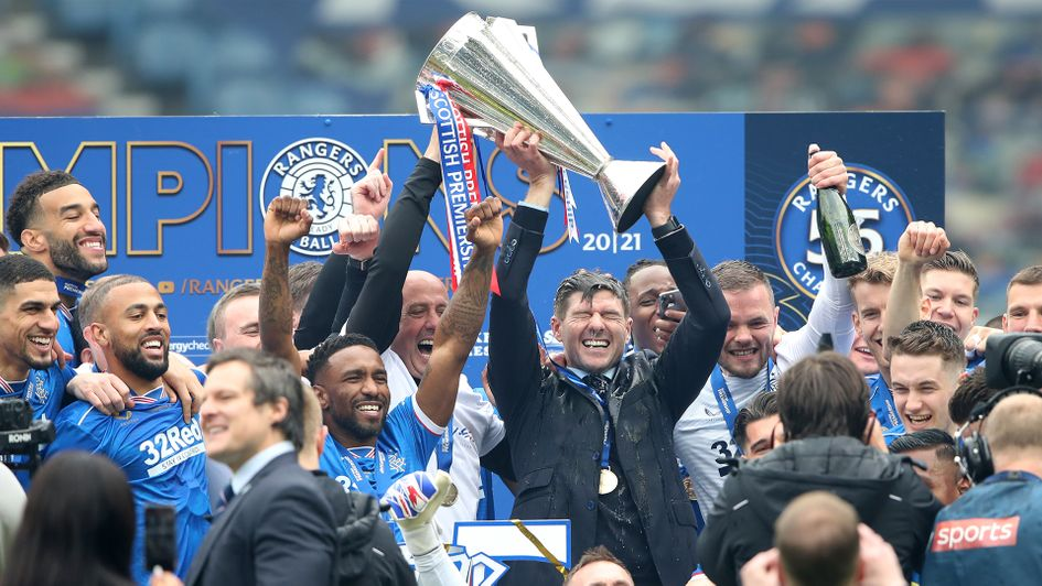 Steven Gerrard's Rangers Completes Season As Invincibles
